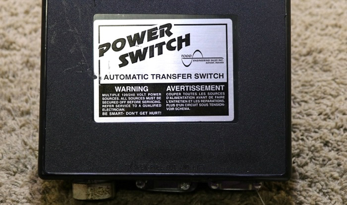 how does an rv automatic transfer switch work